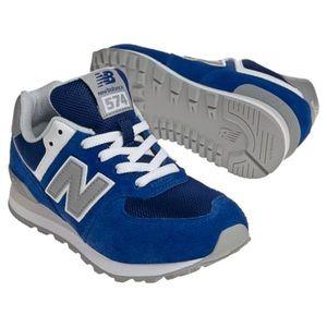 Boy's Cobalt Blue 574 New Balance Sneakers 💙